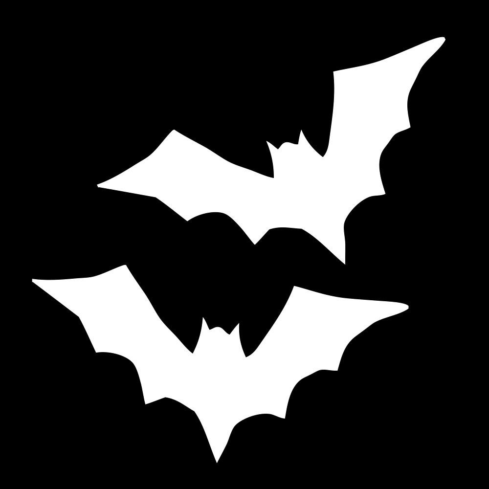Halloween Sticker Bat Sticker, Halloween Decal